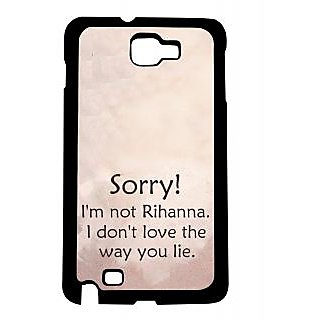 Pickpattern Back Cover For Samsung Galaxy Note 1 N7000 RIHANNANT1