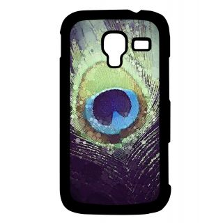 Pickpattern Back Cover For Samsung Galaxy Ace 2 I8160 PEACOCKBLUEACE2