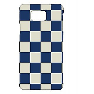 Pickpattern Back Cover For Samsung Galaxy Alpha BLUECHESSSALP