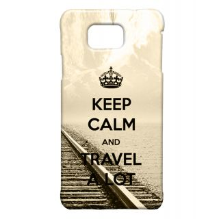 Pickpattern Back Cover For Samsung Galaxy Alpha TRAVELSALP