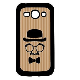 Pickpattern Back Cover For Samsung Galaxy Ace 3 S7272 CHARLIECHAPLINMOUSTACHEACE3