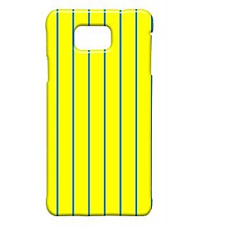 Pickpattern Back Cover For Samsung Galaxy Alpha BRIGHTYELLOWSALP