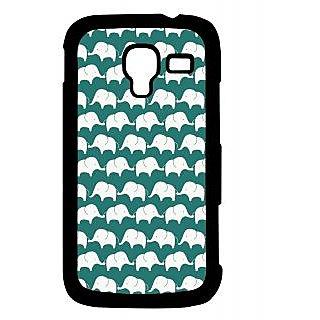 Pickpattern Back Cover For Samsung Galaxy Ace 2 I8160 ELEPHANTSBLUEACE2