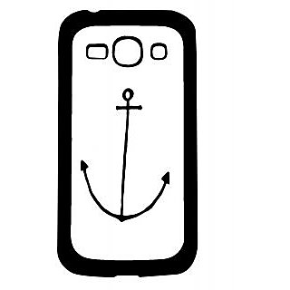 Pickpattern Back Cover For Samsung Galaxy Ace 3 S7272 ANCHORWHITEACE3