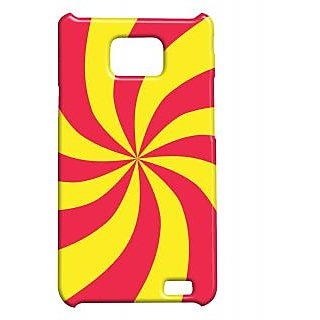 Pickpattern Back Cover For Samsung Galaxy S2 I9100 CARAMELS2
