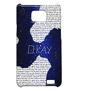 Pickpattern Back Cover For Samsung Galaxy S2 I9100 FAULTS2