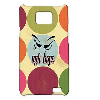 Pickpattern Back Cover For Samsung Galaxy S2 I9100 UGHBOYSS2