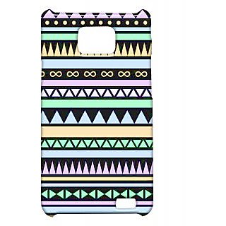 Pickpattern Back Cover For Samsung Galaxy S2 I9100 AZTECBEAUTYS2