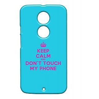 Pickpattern Back Cover For Motorola Moto X 2Nd Gen DONTOUCHMX2