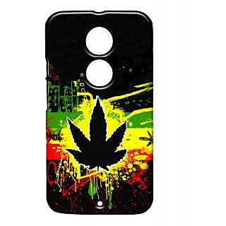 Pickpattern Back Cover For Motorola Moto X 2Nd Gen RASTAHERBMX2