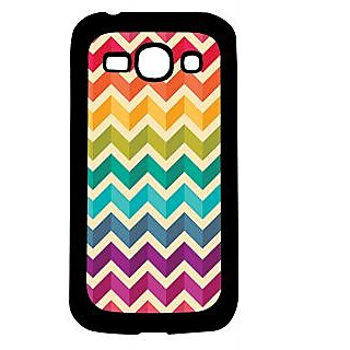 Pickpattern Back Cover For Samsung Galaxy Ace 3 S7272 MULTIZIGZAGACE3