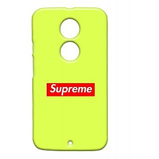 Pickpattern Back Cover For Motorola Moto X 2Nd Gen SUPREMEMX2