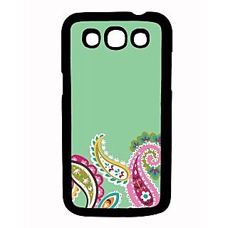 Pickpattern Back Cover For Samsung Galaxy Grand Quattro I8552 FLORALDESIGNQTR