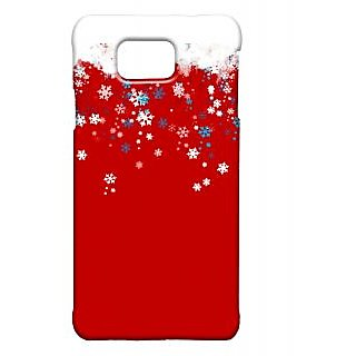 Pickpattern Back Cover For Samsung Galaxy Alpha CHRISTMASSALP