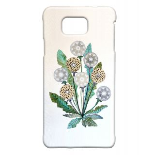 Pickpattern Back Cover For Samsung Galaxy Alpha DOTTEDFLOWERSALP