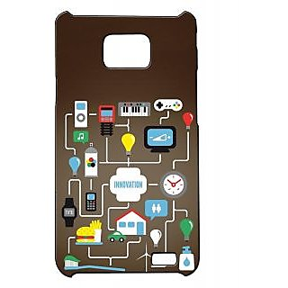 Pickpattern Back Cover For Samsung Galaxy S2 I9100 INNOVATIONS2