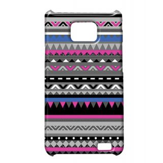 Pickpattern Back Cover For Samsung Galaxy S2 I9100 PURPLE&BLACKS2