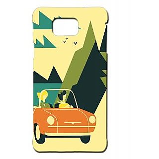 Pickpattern Back Cover For Samsung Galaxy Alpha SUNNYDAYSALP