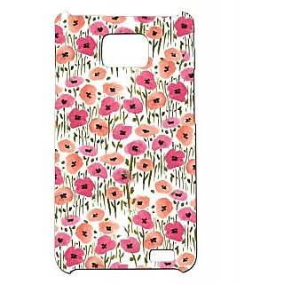 Pickpattern Back Cover For Samsung Galaxy S2 I9100 WATERFLOWERPAINTS2