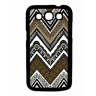 Pickpattern Back Cover For Samsung Galaxy Grand Quattro I8552 BROWNAZTECQTR