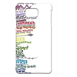 Pickpattern Back Cover For Samsung Galaxy Alpha RANDOMTHOUGHTSSALP