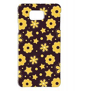 Pickpattern Back Cover For Samsung Galaxy Alpha YELLOWTINTSALP