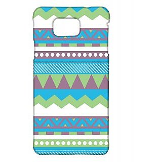Pickpattern Back Cover For Samsung Galaxy Alpha VECTORAZTECSALP