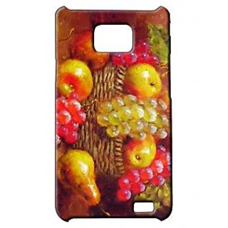 Pickpattern Back Cover For Samsung Galaxy S2 I9100 FRUITFIESTAS2