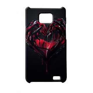 Pickpattern Back Cover For Samsung Galaxy S2 I9100 HEARTFELTS2