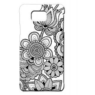 Pickpattern Back Cover For Samsung Galaxy Alpha ARABICDESIGNSALP