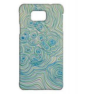 Pickpattern Back Cover For Samsung Galaxy Alpha WAVERLYSALP