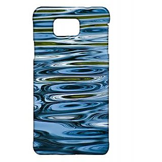 Pickpattern Back Cover For Samsung Galaxy Alpha BLUEWATERSSALP