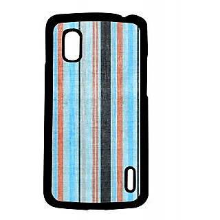 Pickpattern Back Cover For Lg Google Nexus 4 BLUISHWALLN4-16803
