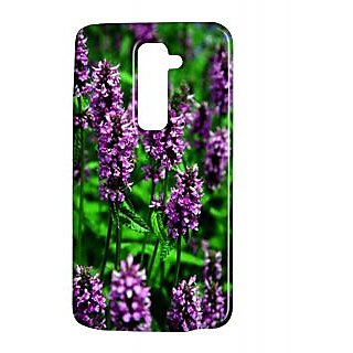Pickpattern Back Cover For Lg G2 PURPLEFLORALLGG2-15142