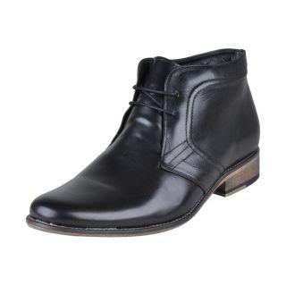 Franco Leone Men's Black Shoes