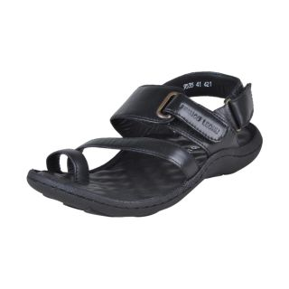 Franco Leone Stylish Black Men's Sandals