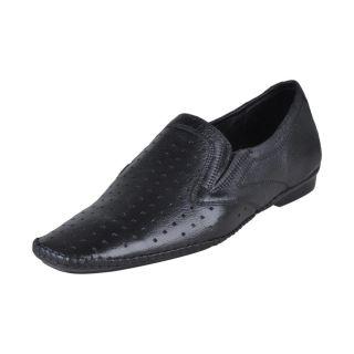 Franco Leone Men's Black Shoes - Design 3