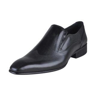 Franco Leone Men's Black Shoes  - Design 7