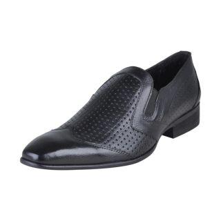 Franco Leone Men's Black Shoes - Design 11