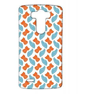 Pickpattern Back Cover For Lg G3 STARRINGKITTYLGG3-12801
