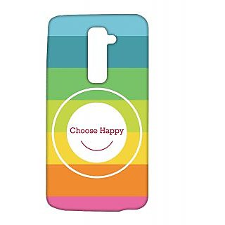 Pickpattern Back Cover For Lg G2 CHOOSEHAPPINESSLGG2-15427