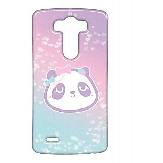 Pickpattern Back Cover For Lg G3 PINKPANDALGG3-13426