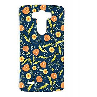 Pickpattern Back Cover For Lg G3 FLOWERCARPETLGG3-12729