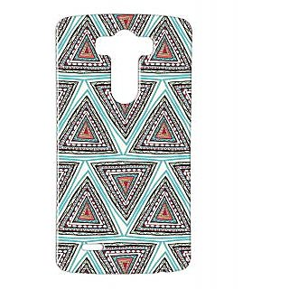 Pickpattern Back Cover For Lg G3 TRIANGLEMATLGG3-12712