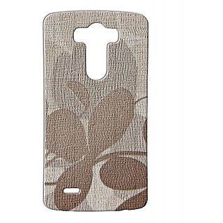 Pickpattern Back Cover For Lg G3 JUTEFLOWERLGG3-12694