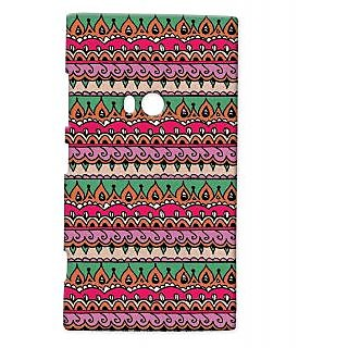 Pickpattern Back Cover For Nokia Lumia 920 MANYROPES920-12287