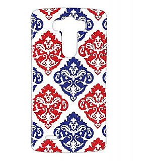 Pickpattern Back Cover For Lg G3 REDAVATARLGG3-12706