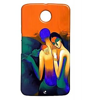 Pickpattern Back Cover For Motorola Google Nexus 6 BEAUTYN6-17514