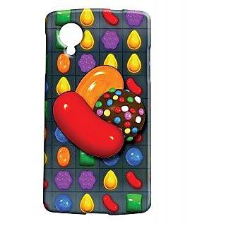 Pickpattern Back Cover For Lg Google Nexus 5 CANDYCRUSHN5-14246