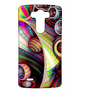 Pickpattern Back Cover For Lg G3 COLOURFULFLORALLGG3-13682
